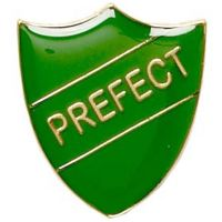 ShieldBadge Prefect Green</br>SB013G